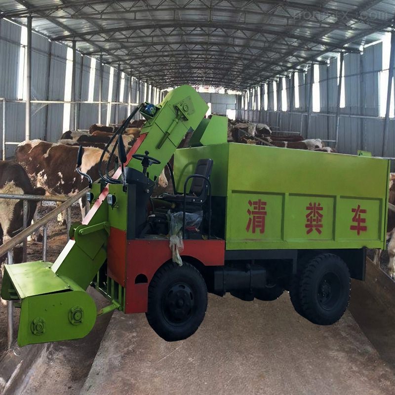 自走式柴油清糞車 490型柴油發動機鏟糞車