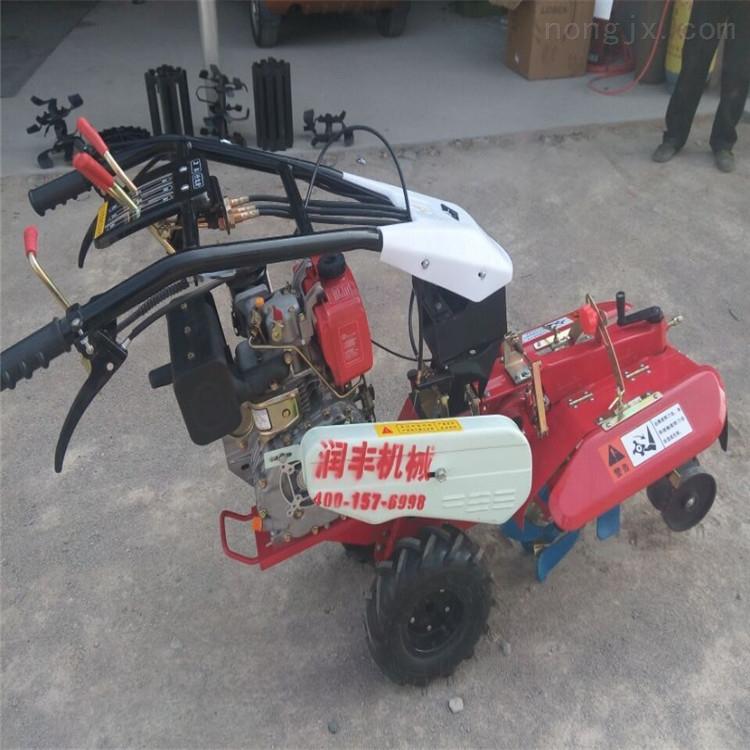 RH-TYGLJ-手扶多功能犁地机 电启动浮土开沟管理机