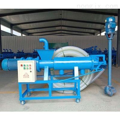 螺旋挤压式豆渣脱水机 养殖专用固液分离机