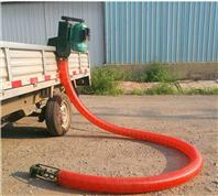 收小麦用吸粮机 移动式价中转的软管抽粮机