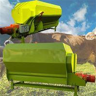 拖拉机牵引TMR搅拌机 奶牛场草料混合机