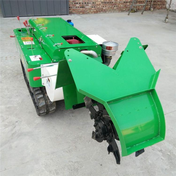 遙控農田自走式施肥回填機 果園開溝施肥機