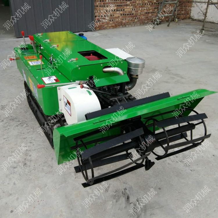 农用大型开沟机 低矮果树施肥机 履带旋耕机