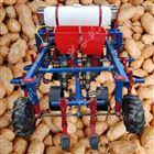 xnjx-2小型花生播种覆膜机 玉米施肥浇水盖膜机