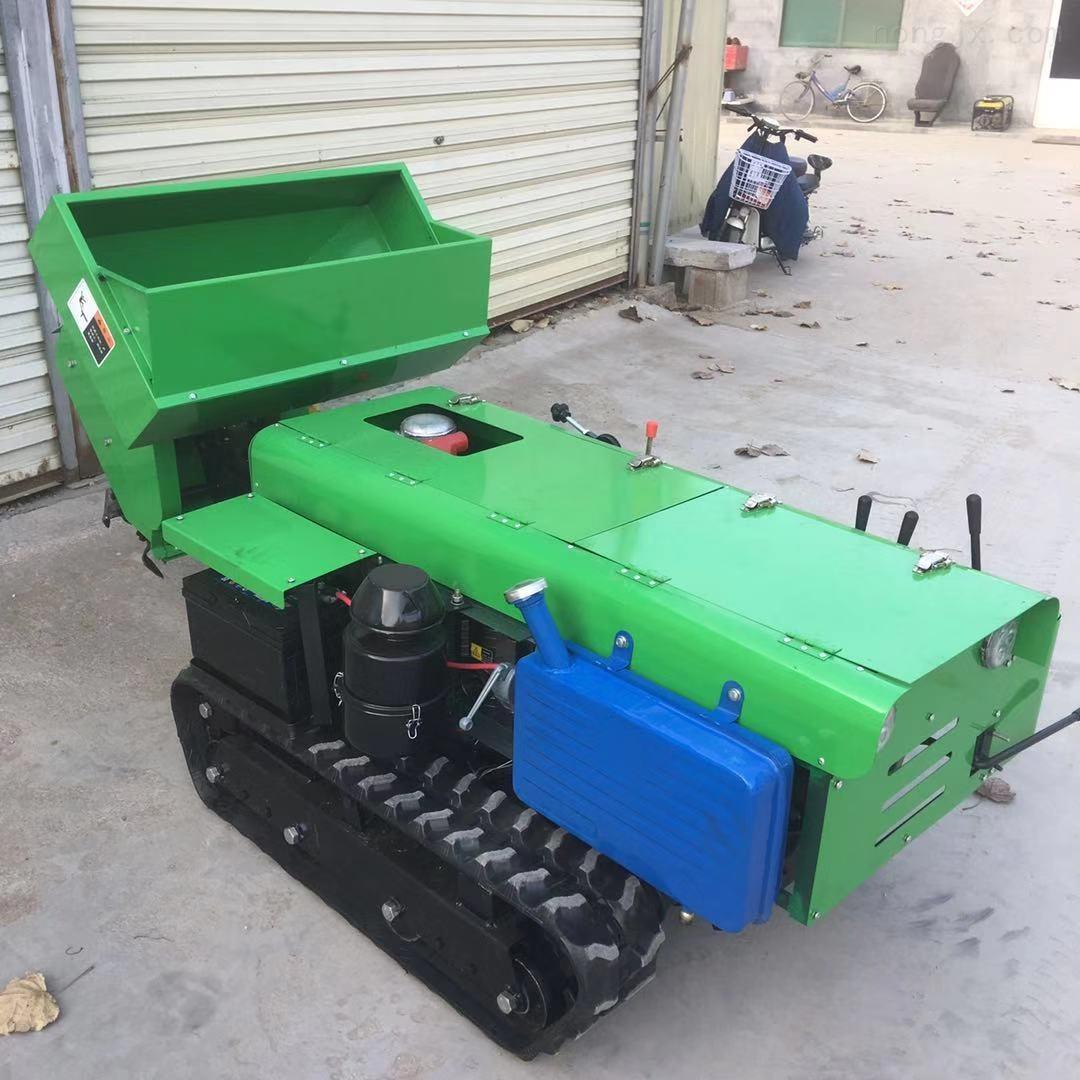 28马力果树开沟施肥一体机  履带轮胎施肥机