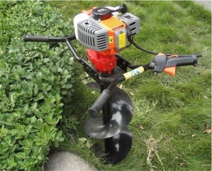 大马力汽油螺旋打坑机 种植树苗挖坑机