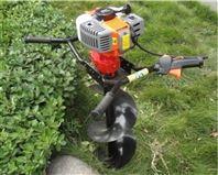大马力汽油螺旋打坑机 莳植树苗挖坑机
