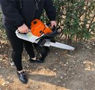 合金刀头的链条挖树机 便携式断根起树机