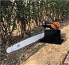 合金链锯式的起树机 铲头小型挖树机