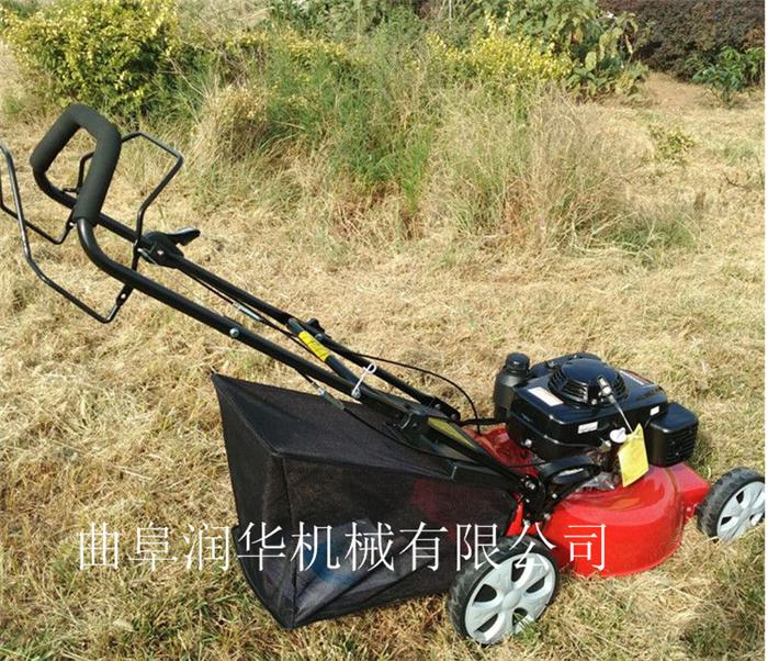 庭院草坪汽油剪草机 背负式水稻牧草收割机