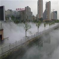 承包商业街室外过道人造雾喷雾降温设备工程