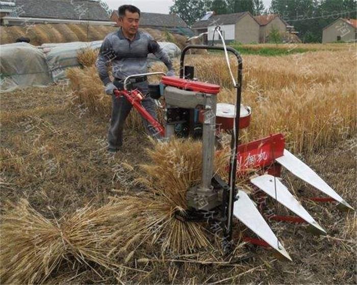 多缸拖拉機帶玉米割曬機 手扶式牧草收割機