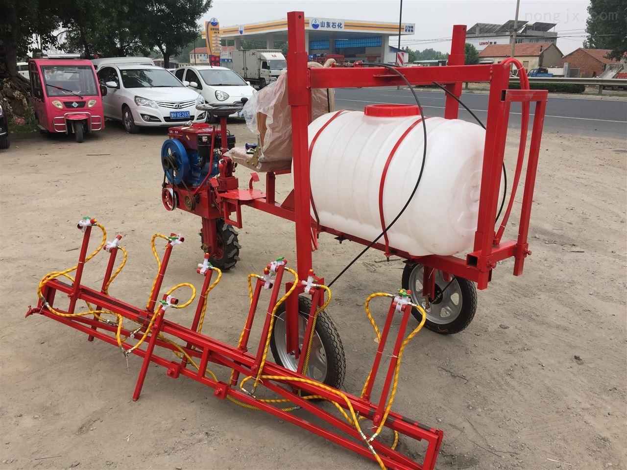 养殖场打药喷雾器 手推式果园喷雾机视频