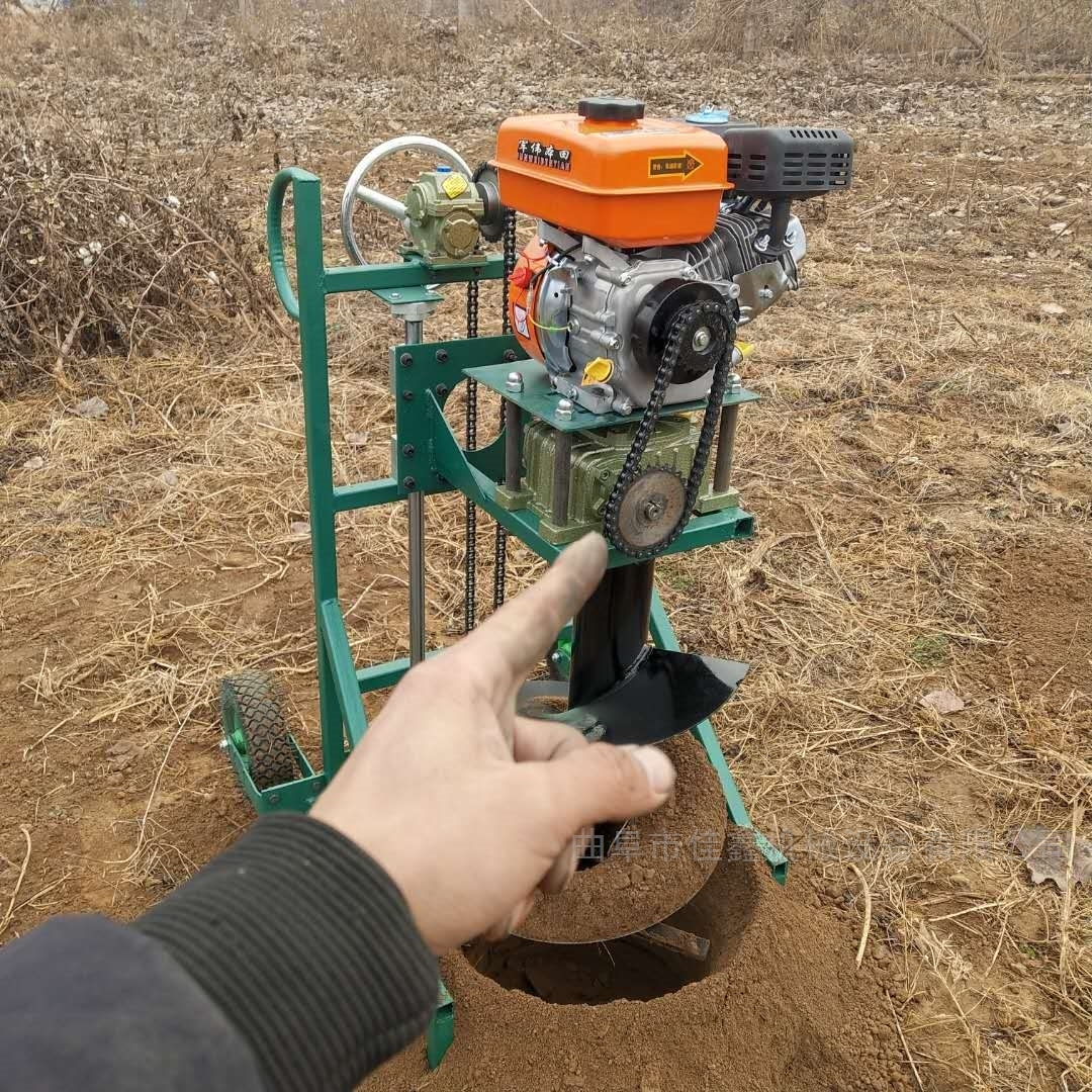 河北汽油打洞机 多用植树挖坑机价格