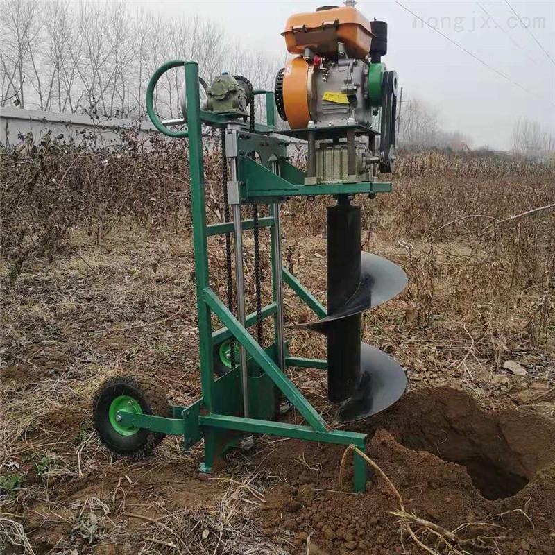 便携式新型植树挖坑机 定做立柱钻坑设备