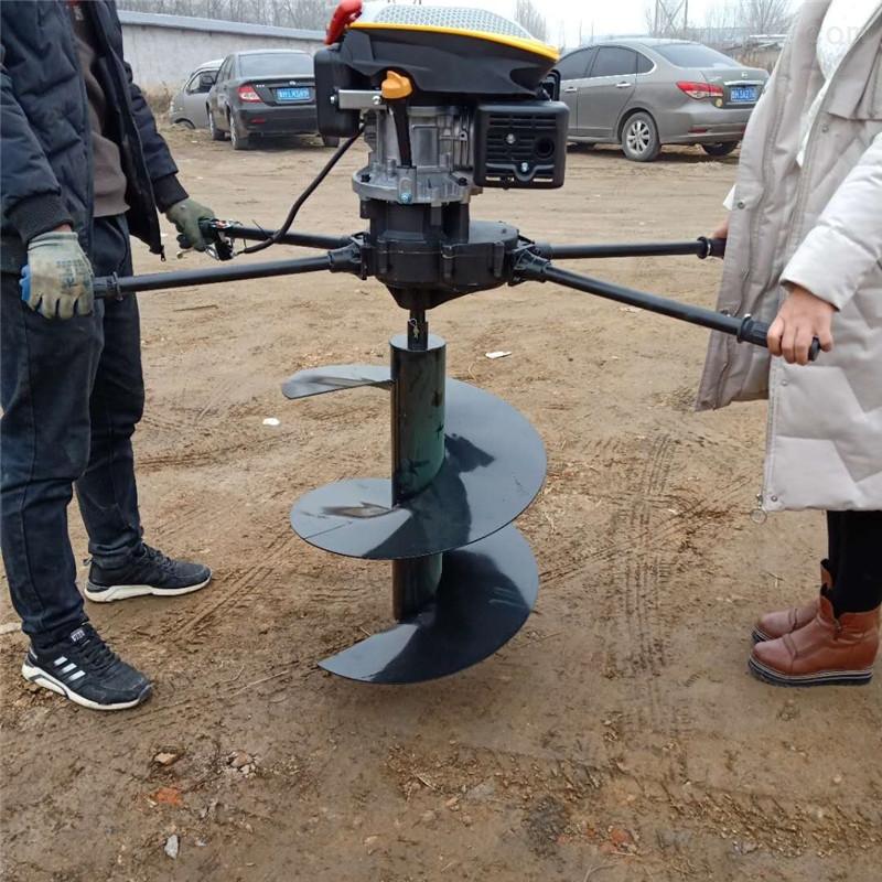 果园植树追肥刨坑机悬挂式植树挖坑机图片