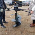 双人操作汽油挖坑机 果树挖穴打洞机直销