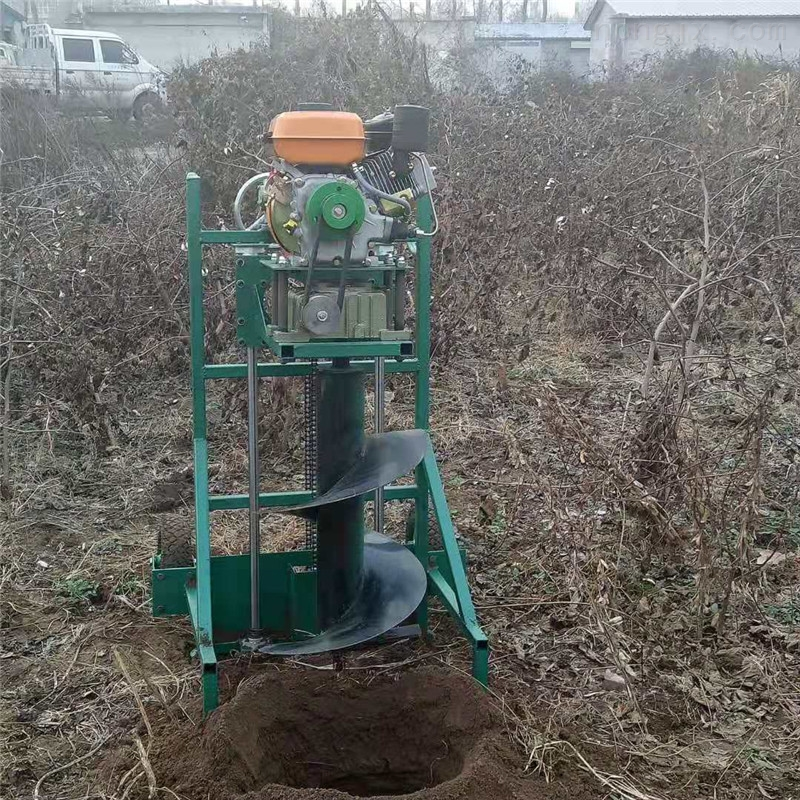 大马力植树挖坑机 四轮悬挂打坑机批发