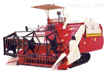 自走履带式4LD-2.5高速水稻联合收割机