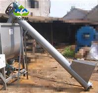 螺旋圆管提料机 玉米饲料上料用提升机