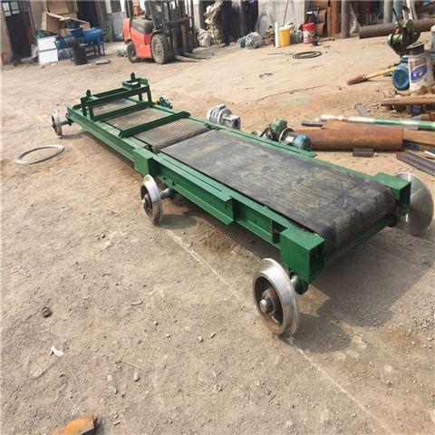 建材厂皮带输送机 双皮带传送机 车间流水线