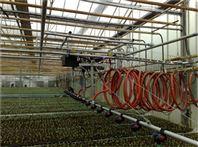 温室悬挂全自动自走式喷灌机华耀现货供应