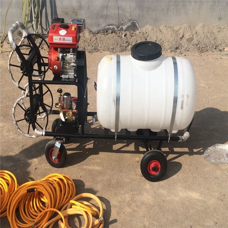 手推式打药机 农用汽油喷雾器 自走式喷药机
