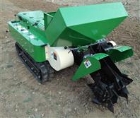 农用耕地回填履带施肥机 果园树林开沟机