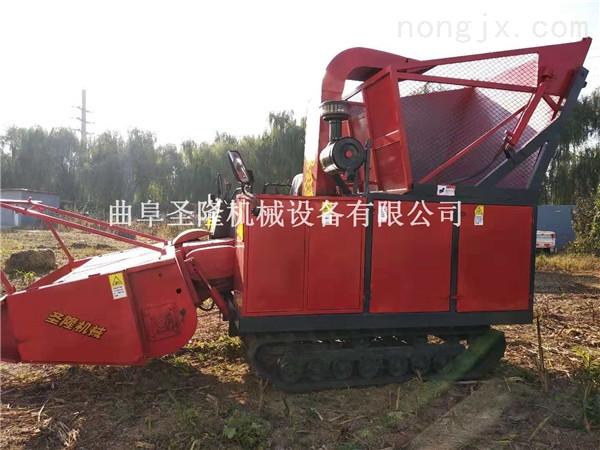 自走式玉米收割机 玉米秸秆青储机