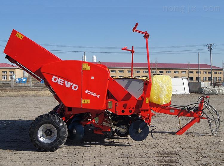 2CMQ-4型牵引式马铃薯施肥种植机