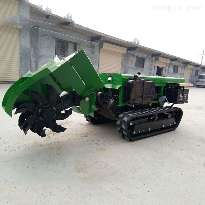 遥控式履带旋耕机 多功能开沟施肥机价格