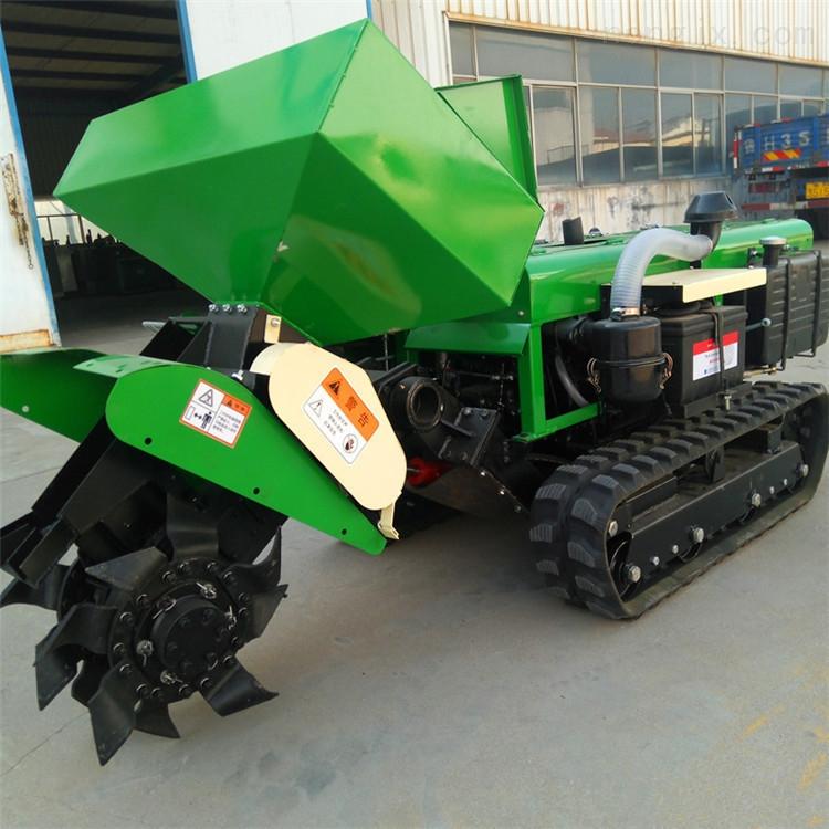 RF-LD-5-低矮果树开沟施肥机 柴油履带式旋耕除草机