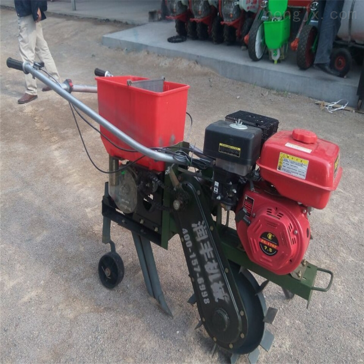 四轮拖拉机土豆播种机 全自动玉米覆膜机