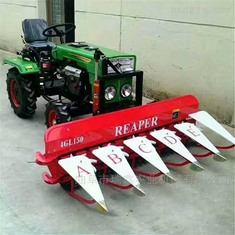 多功能小型割晒机 牧草收割机