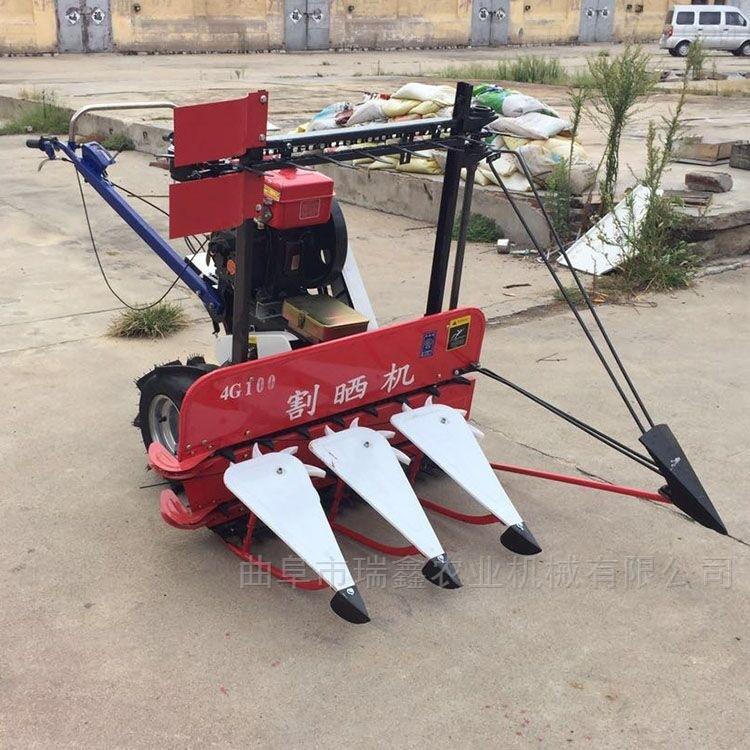 黑龙江山地苜蓿牧草收割机 水稻打捆机