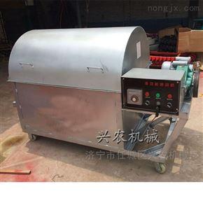 xnjx-30小型花生瓜子炒籽机 滚筒辣椒炒锅机
