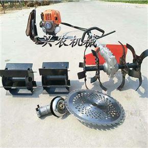 xnjx-4汽油四冲程背负式割草机 多功能松土机