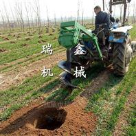 高效便携式汽油挖坑机
