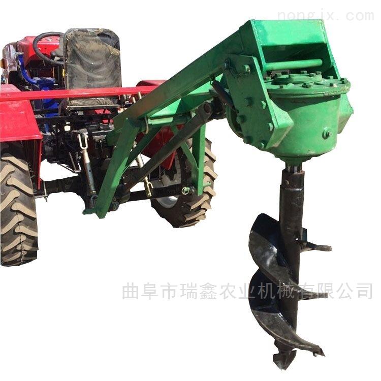 硬土质专用植树机 小型地钻挖坑机