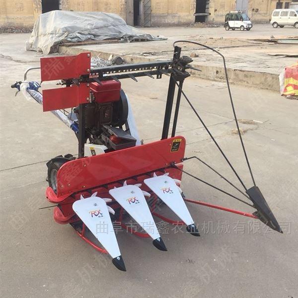 瑞鑫4G120型芦苇收割机