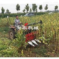 黑龙江玉米收割不留茬收获机小型割晒机
