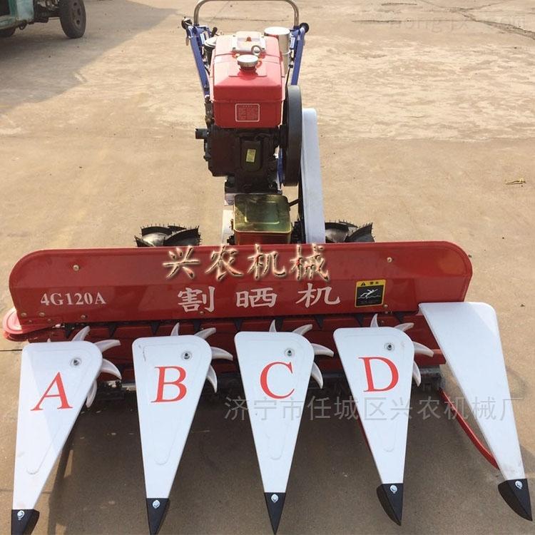 江苏玉米秸秆粉碎机 稳定手推式割晒机