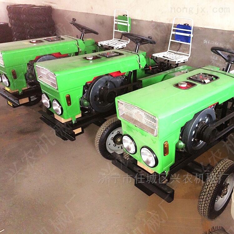 小拖拉机四轮大棚管理机带旋耕机