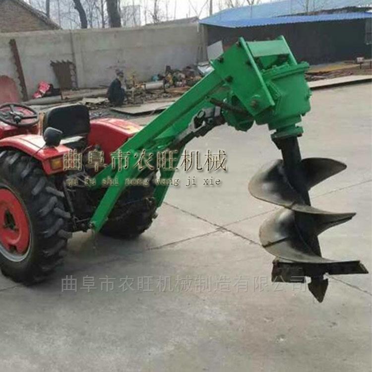 多功能汽油打孔挖坑机 大马力植树挖坑机