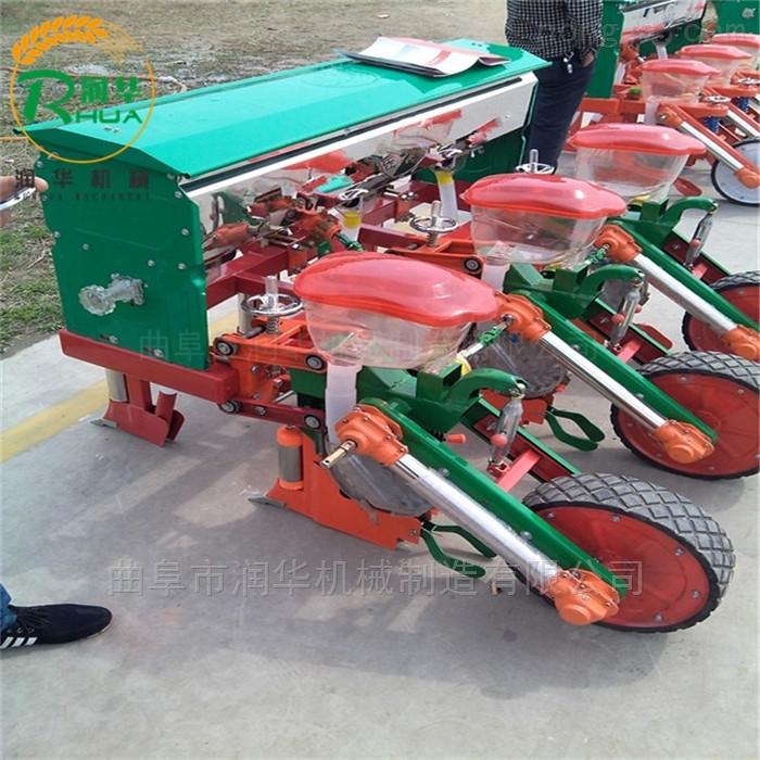 手提式玉米施肥播种机 多功能拖拉机精播机