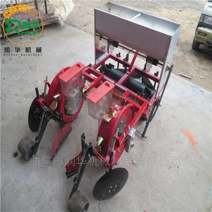 农机局采购玉米覆膜播种机 垄间施肥精播机
