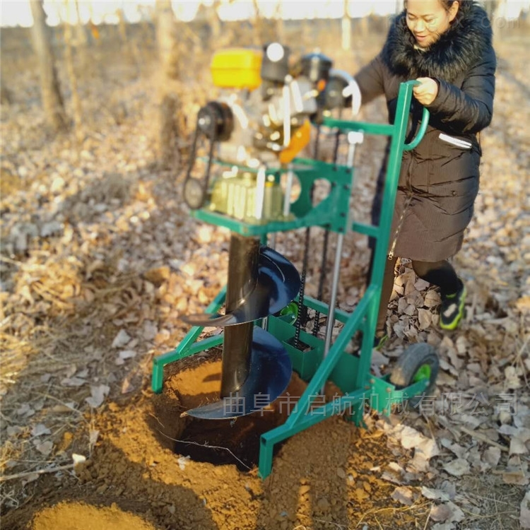 大直徑鑽眼打洞機 硬土地挖坑機