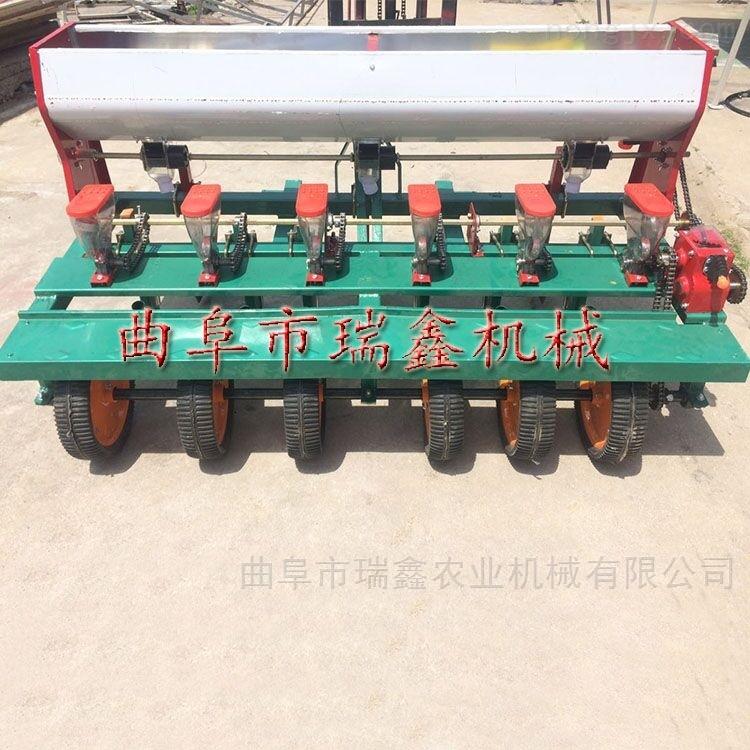 六行谷子播种机 高粱种子精播机
