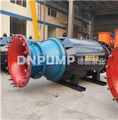 鱼塘循环简易式潜水轴流泵