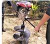 工程电力杆埋桩打洞机 钻洞栽苗螺旋打坑机